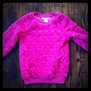 2/$10 Juicy Couture Fuzzy Sweater Hot Pink